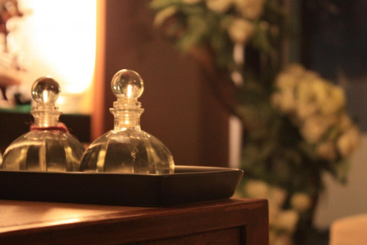 Nine Spa Bangkok uses only the highest quality of massage oils